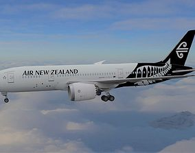 Boeing 787 Dreamliner Air New Zealand 3D model dreamliner