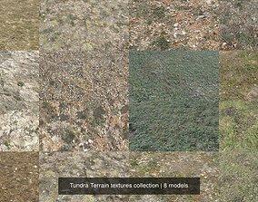 Tundra Terrain textures collection 3D