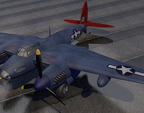 3D DeHavilland Mosquito PR Mk-16 - USAF