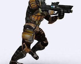 Josh elite trooper 3D asset