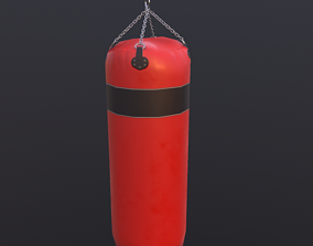 equipment 3D model VR / AR ready Punching bag