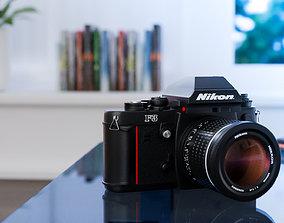 pictures 3D model Nikon F3
