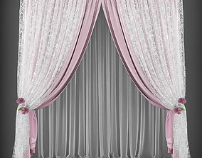 Curtain 3D model 157 realtime
