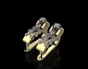 3D print model J EARRINGS N309