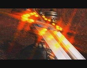 Glowing glory great sword 3D model