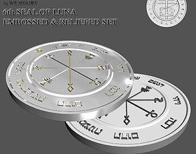 6th Seal of Luna 3D print model