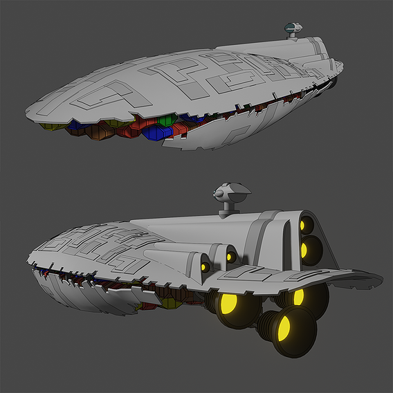 GR-75 Transport - Star Wars - Fan Art