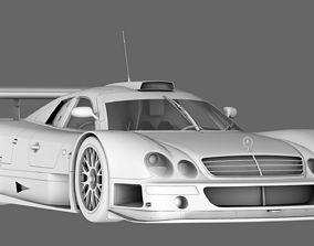 3D polygon AMG Mercedes CLK 1998 1999 GT3