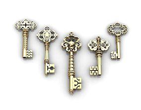 Key Pendant Set 3D print model