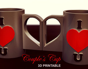 Couple s Cup 3D printable model