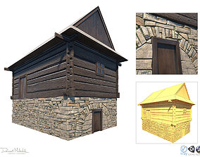 Granary Building - Slav Architecture 3D model