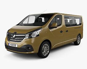 Renault Trafic Passenger Van LWB 2020 3D