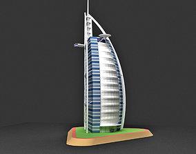 3D Burj Al Arab Hotel Dubai