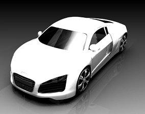 Auidi R8 3D