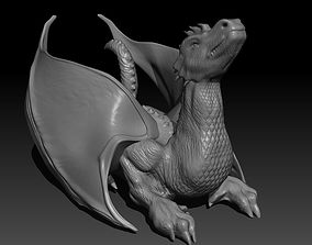The Dragon 3D printable model