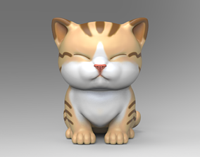 Cute Kitten V3 STL for 3D print model
