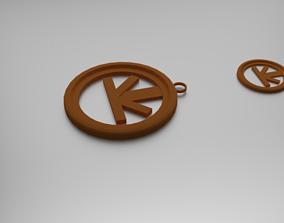 Semi Sextiles Pendant 3D printable model