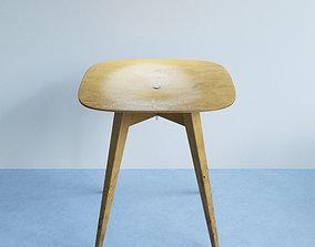 3D Beech Plywood Stool