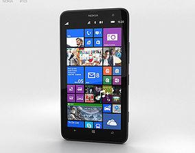 3D model Nokia Lumia 1320 Black