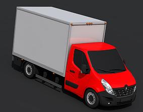 Renault Master Pickup 2018 3D asset realtime