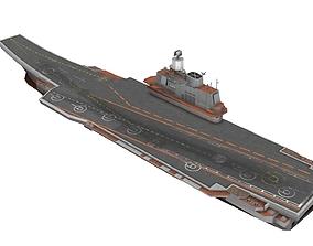 Kuznetsov-class aircraft carrier 3D asset