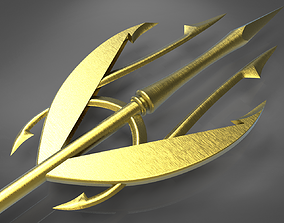 Meras Trident from the Aquaman comic 3D printable model