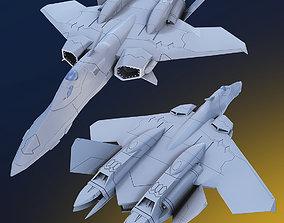 YF-21 Sturmvogel 3D