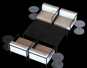 Kettal Landscape club chair L 3D