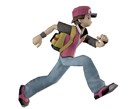 Ash Ketchum RIGGED 3D asset