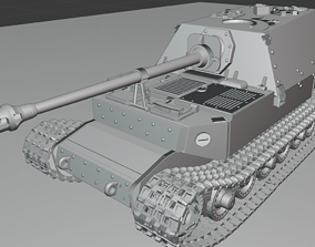 3D print model Ferdinand Tanks thunder