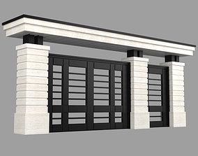 Modern gate 3D