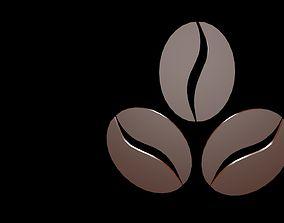 Coffee symbols 3D model