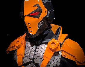 other 3D File-Deathstroke Black-Ops Helmet