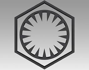First Order Galactic Empire symbol 3D print model