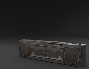 3D model Scanned BOOMBOX RAW SCAN