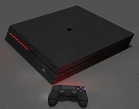 PS4 pro 3D asset game-ready