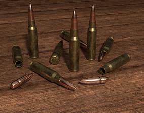 3D asset 308 bullet