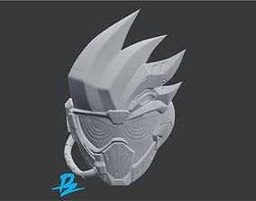 Mask Kamen Rider Genm Dangerious Zombie 3D print model