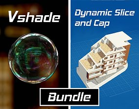 VSHADE and DYNAMIC SLICE AND CAP for Blender 3D