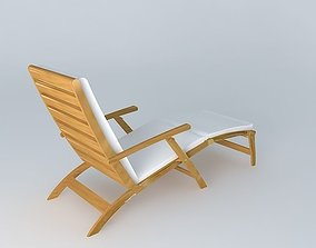 3D model Deckchair OLÉRON