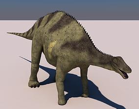 Brachytrachelopan Dinosaur 3D model
