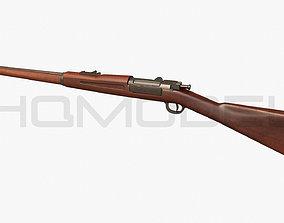 Krag Rifle PBR 3D asset