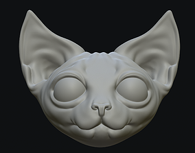3D print model Sphynx Cat