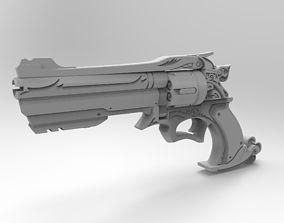 3D printable model McCree six-shooter overwatch