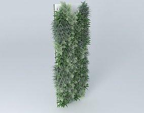 3D Vertical vegetation Garden