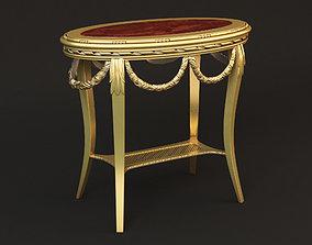 3D model Round Vintage Table