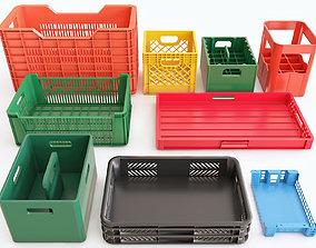 3D Plastic crate vol 02
