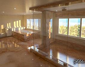3D model Bathroom 06