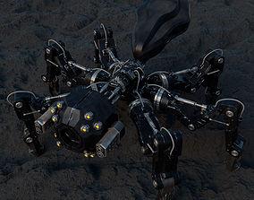 Robotic Spider - Sci Fi - Character 3D model