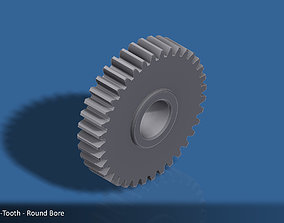 3D printable model 36-Tooth Spur Gear 03